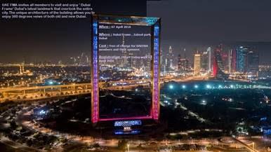 Visit to Dubai Frame